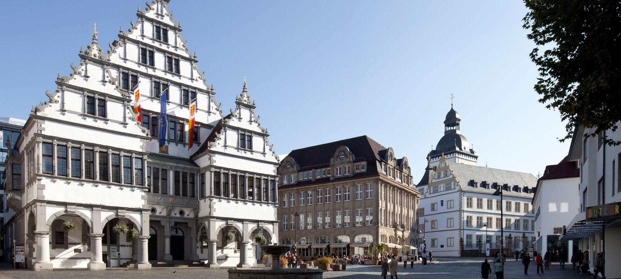Historische Rathaus Paderborn © Matthias Groppe