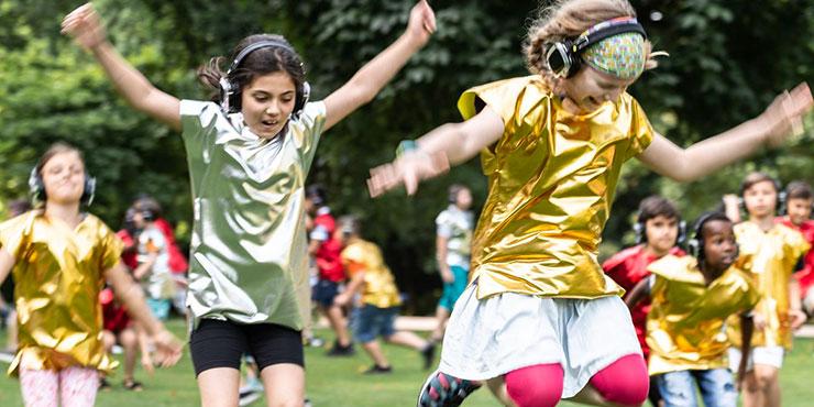 Tanz Rasant Klasse Kinder Ligna